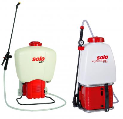 Akumulátorový postřikovač Solo 416Li a 417