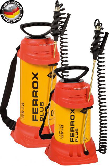 Ferrox Plus - stavebnictví, ocelová nádrž